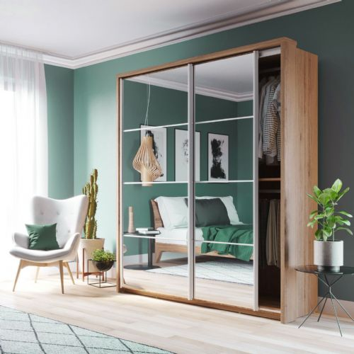 Edinburgh 2 Door  Sliding Wardrobe (Sliderobe)